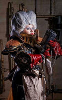 Warhammer 40 000 Cosplay: Inquisitrix by alberti