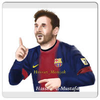 Leo Messi by HasssanArt