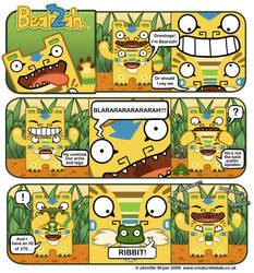 The Adventures of Bearzah by creaturekebab