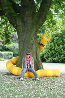 Goodbye Snake Kitty by creaturekebab