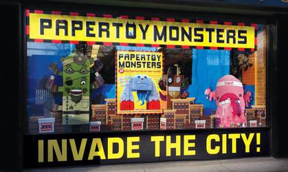 Shop Window in Vancouver by creaturekebab