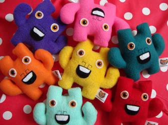 Mini Monsters by creaturekebab