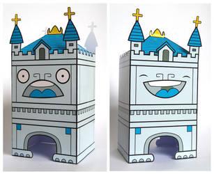 Tower Bridge Paper Toy by creaturekebab
