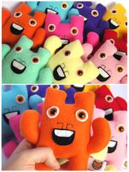 Mini Monstersss by creaturekebab