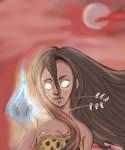 Firelady by Noodlecuppie