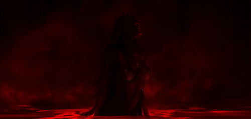 Vampire Queen Carmilla by Banished-shadow