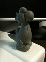 Yoshi sculpture by Swebliss