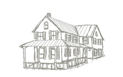 New England house design by Swebliss