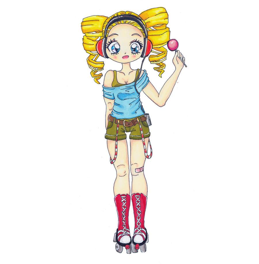 Rollergirl by Swebliss