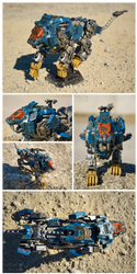 Zoids MPZ-01 | Shield Liger Battle Damaged Ver. by MaiasaLiger