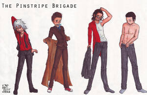 The Pinstripe Brigade by ParallelPenguins