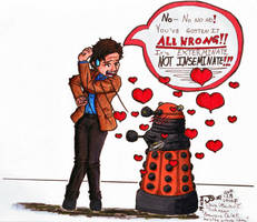 The Amourous Dalek by ParallelPenguins