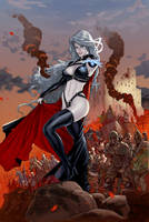 Lady Death: Dragon Wars #1 - War Edition by Ric1975