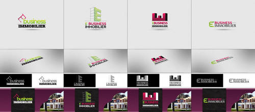 E Business Immobillier Logo proposals by arkgrafik