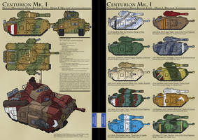 Centurion Main Battle Tank by MrAverage