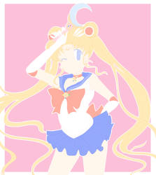 Sailormoon Crystal Lineart by Jau-chan