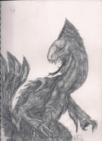 Beast (dragon) no.1 by TheWolverineCello