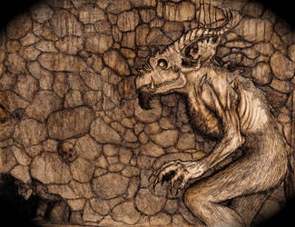 The Satyr of Prague by TheWolverineCello
