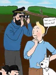 Hello Tintin by TheWolverineCello
