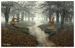 ...fade away... by ArthurBlue