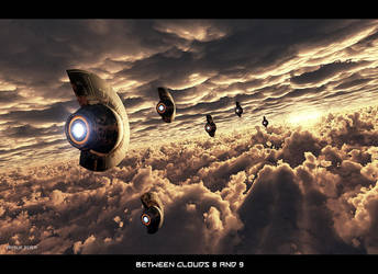 Between Clouds 8 and 9 by ArthurBlue