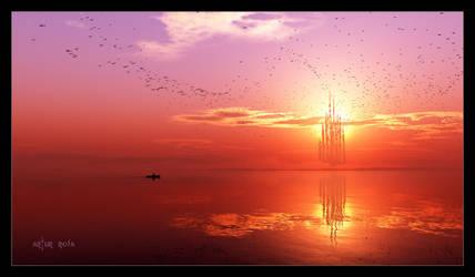 Follow the birds by ArthurBlue