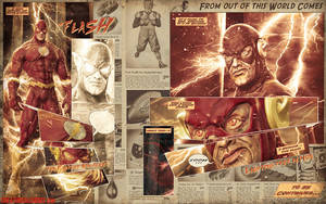 Flash Comics Fan Art by Tofel