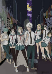 Request to Bones Animation - Soul Eater: Spartoi by everglowe