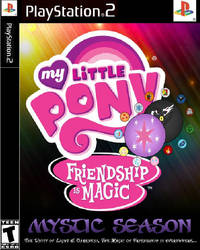 MLP Mystic on PS2 by cartoonfan22