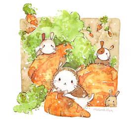 Carrots by Melonkitten