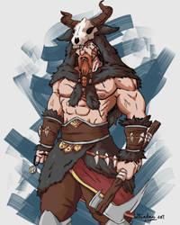 Wendigo hunter [request] by Leikdaz22