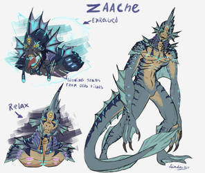 Zaache the piscian by Leikdaz22
