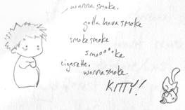 Jesse quit smoking by melukilan