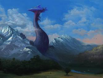 Etiznel the sky seeker by RaiWald