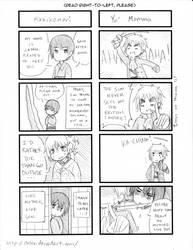 -4koma- Amaterasu and Japan by ItaLuv