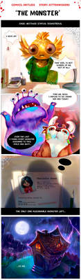 The Monster - Part 1 by j-witless