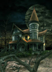 Haunted House by MatthewMartinKing