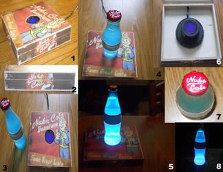 Fallout - Nuka Cola Quantum Lamp by BGShepard