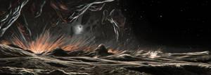 Iapetus ridge formation by JustV23