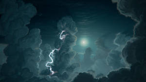 Cloud Pillars by JustV23