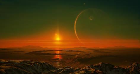 Alien Titan by JustV23
