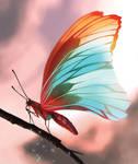 Butterfly by EdgarGomezArt