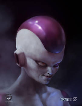 Frieza / Freezer fan art by EdgarGomezArt