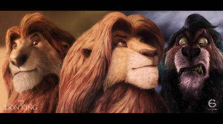 The Lion King by EdgarGomezArt