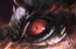 Dragon Eye by EdgarGomezArt