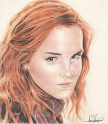 Emma Watson by Naomi-Torrecampo