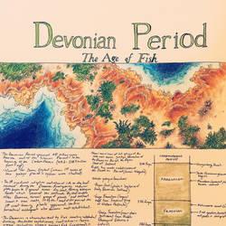 Devonian Title Page: Rhynie Chert by PrehistoryByLiam