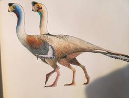 Citipati species by PrehistoryByLiam