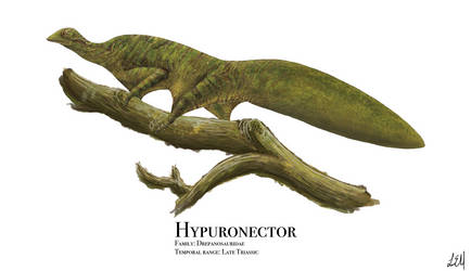 Hypuronector by PrehistoryByLiam