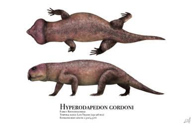 Hyperodapedon by PrehistoryByLiam
